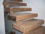 degrau - madeira de demolicao