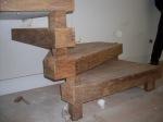 escada -madeira de demolicao