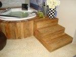 madeira de demolicao - degraus