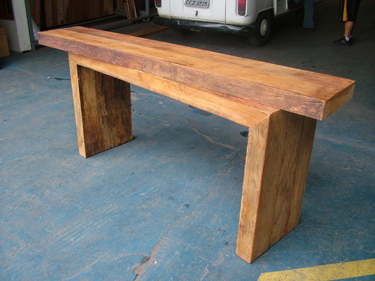 Tampo para balcão em madeira de demolição. #B06A1B 1280 960