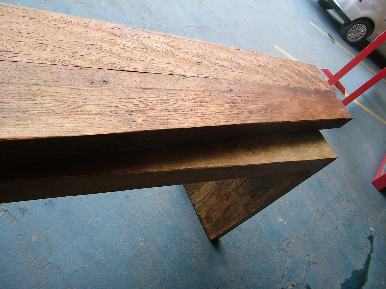 aparador feito de madeira de demolição esta um tampo para cozinha  #763628 1280 960