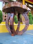 mesa macica de madeira