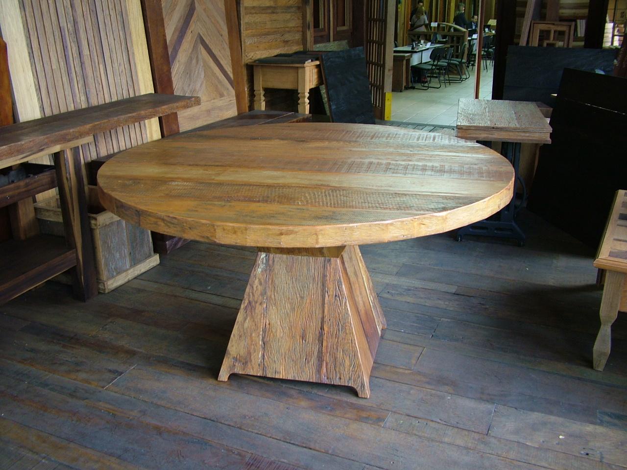 mesa de centro em madeira de demolicao Madeira de Demolição #614930 1280x960