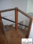 Escada em madeira de demolição