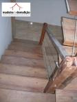 Revestimento em madeira de demolição