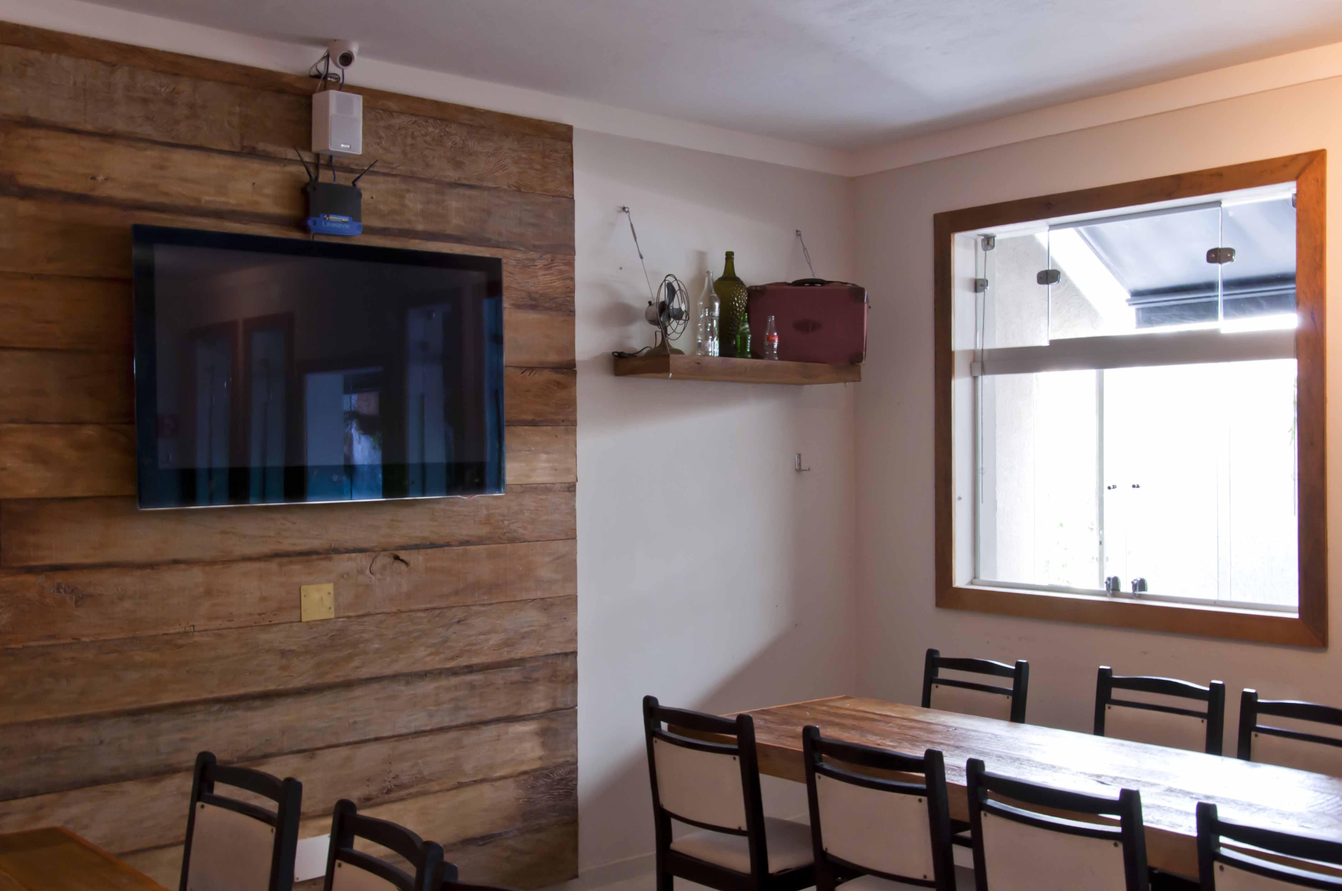 Painéis de madeira – Painel em madeira de demolição Madeira de  #A45927 4288x2848