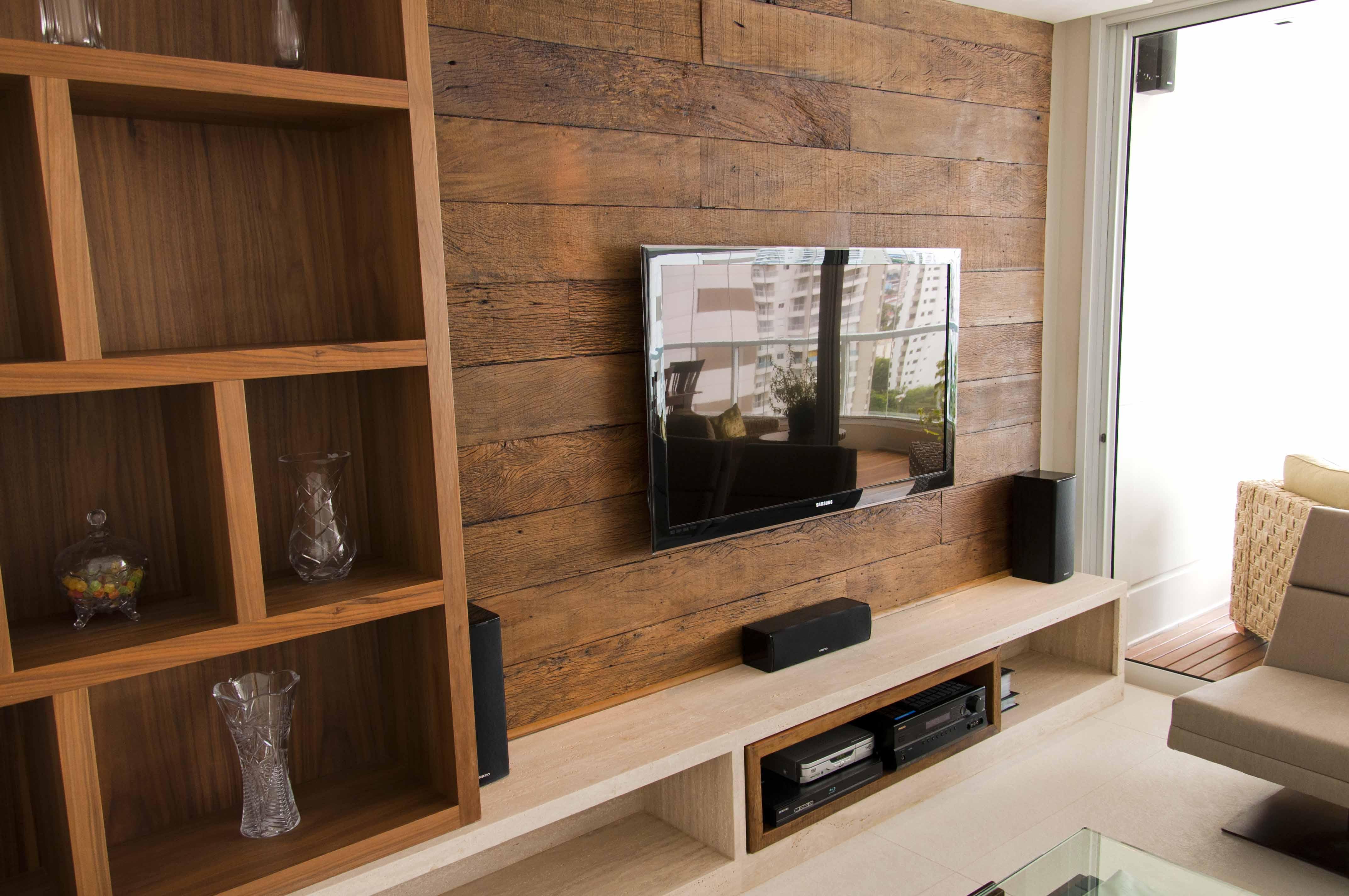 Painéis de madeira – Painel em madeira de demolição Madeira de  #936038 4288x2848